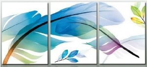 Abstract Painting Decoration Colorful Stretched